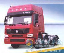 中国重汽 HOWO 290马力 4×2 牵引车 ZZ4187M3517CZ