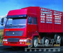 中国重汽 斯太尔王 260马力 4×2 载货车 ZZ5121G5615W