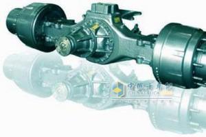 中国重汽HC16铸造双级减速重型驱动桥