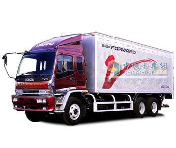 五十铃 F系列 6×4 载货车
