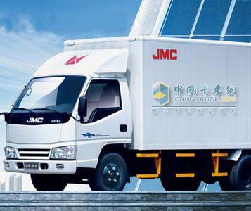 江铃 凯运轻卡 116马力 4×2 厢式载货车 JX5043XXYXGB2