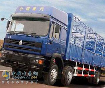中国重汽 豪骏 196马力 6×2 载货车 ZZ1253M56C1A