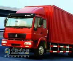 中国重汽 黄河少帅 190马力 4×2 载货车 ZZ1114F4615A