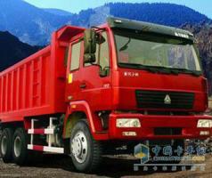 中国重汽 黄河少帅 180马力 4×2 自卸车 ZZ3164G3815A