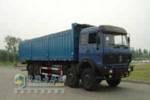 北奔 ND3310D47J 8×4 自卸车
