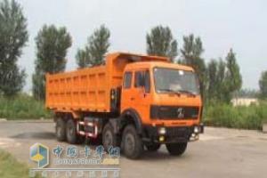 北奔 ND3310D41J 8×4 自卸车