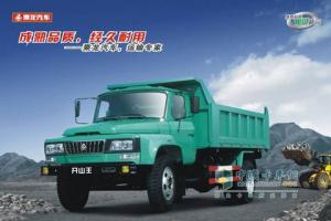东风柳汽 开山王 180马力 4×2 中型 自卸车