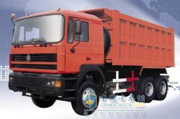 中国重汽 豪骏 290马力 6×4 自卸车 ZZ3253M2941
