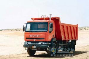 雷诺 Kerax 400 290马力 6×4  自卸车