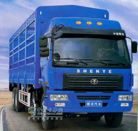 精功 远力 8×4 载货车 1310系列