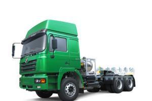 陕汽 德龙 液化天然气牵引车(LNG)375马力 6×4 牵引车