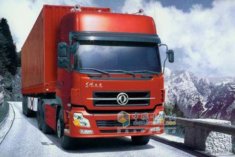 东风商用车 天龙重卡 450马力 6×4 牵引车 DFL4251A