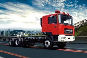青年曼  300马力 6×4  牵引车 消防底盘改装车 YTQ1250FD1J1