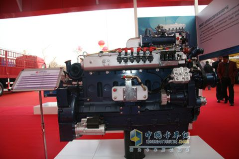 潍柴动力蓝擎WP10NG系列气体机