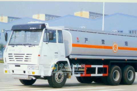 陕汽 奥龙 6x4 液罐运输车