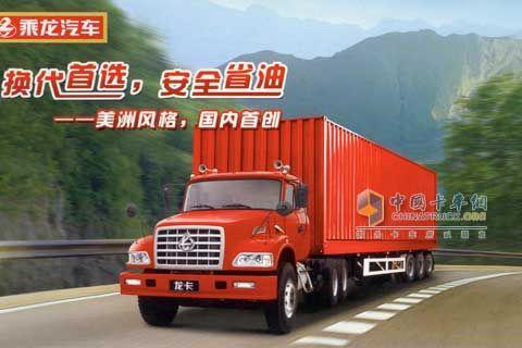 东风柳汽 龙卡 230马力 6×4 牵引车 LZ4252JDF