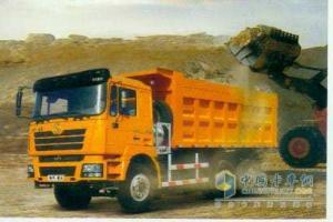 陕汽 德龙F3000  380马力 6X4 液化天然气(LNG) 自卸车系列