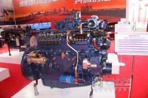 潍柴动力蓝擎WP6NG系列气体机