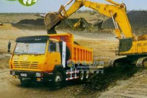 陕汽 奥龙 天然气 280马力 6X4 自卸车