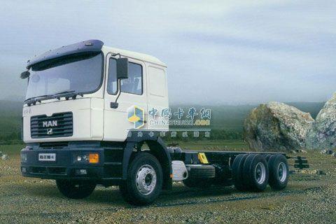 青年曼 320马力 6X4 牵引车 JNP1250FD1J1