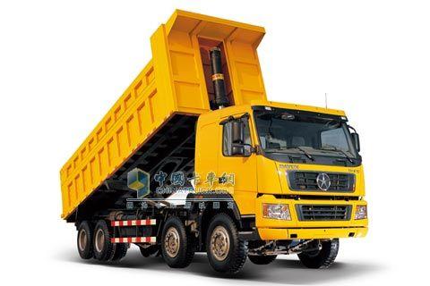 大运重卡 336马力 8×4 自卸车系列DYX3311