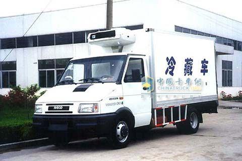 南京依维柯 冷藏车