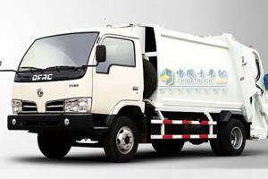东风 多利卡 115马力 4×2 垃圾车 JDF5080ZYS