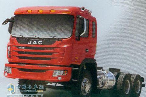江淮 格尔发 重卡 220马力 6×4 自卸车