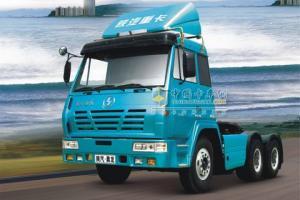 """陕汽 2011""""驰久版"""" 奥龙 290马力 6×2 牵引车"""