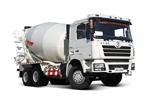 陕汽 德龙重卡 350马力 6×4 LNG水泥搅拌车