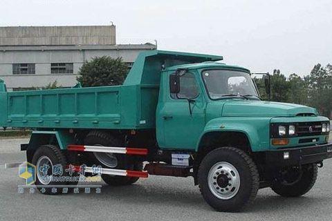 东风柳汽 龙卡开山王中卡 220马力 4×2 自卸车 LZ3121JAN
