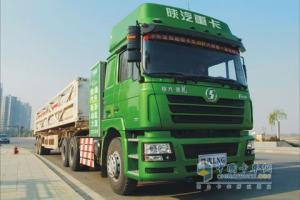 陕汽 德龙重卡 6×4 LNG牵引车(轻量化)SX4256NT384TLZ