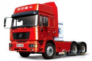 陕汽 德龙重卡 6×4 LNG超强版牵引车 SX4257NT384TL