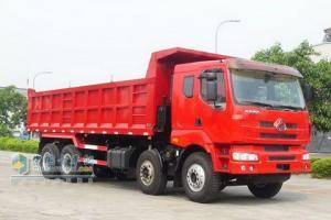 东风柳汽 霸龙重卡 336马力 8×4 自卸车 LZ3301QEH