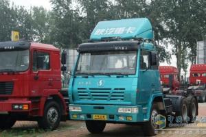 陕汽 奥龙重卡 336马力 6×4 牵引车 SX4255TT294