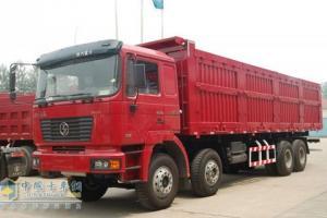 陕汽 德龙FC重卡 345马力 8×4 自卸车 SX3315NT406C