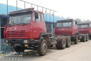 陕汽 奥龙重卡 260马力 6×4 自卸车 SX3254BL324