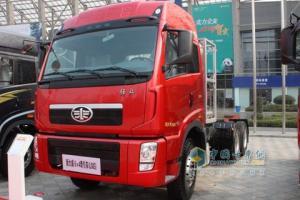 一汽解放 新大威重卡 340马力 6×2 牵引车 CA4228P2K2T3EA80