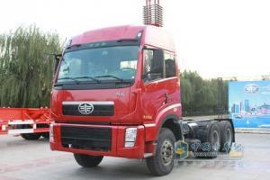 一汽解放 新大威重卡 320马力 6×4 牵引车 CA4257P2K2T1EA82