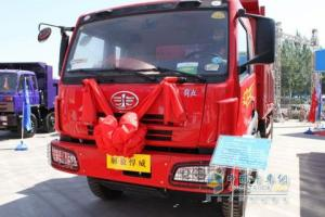 一汽解放 悍威(J5M)重卡 260马力 8×4 自卸车 CA3313P7K1T4A1E