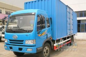 一汽解放 骏威(J5K)中卡 158马力 4×2  载货车 CA5120XXYPK2L5EA80-3