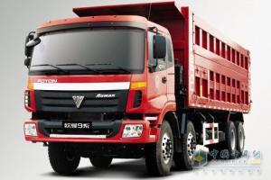 福田欧曼 TX重卡 380马力 8×4 9系自卸车