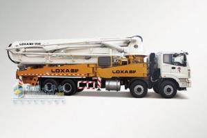 福田雷萨 CTX重卡 8×4 9系48米混凝土泵车