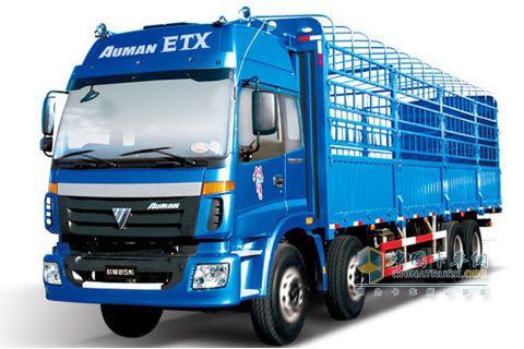 福田戴姆勒 欧曼新5系 270马力 8×4 标准型载货车