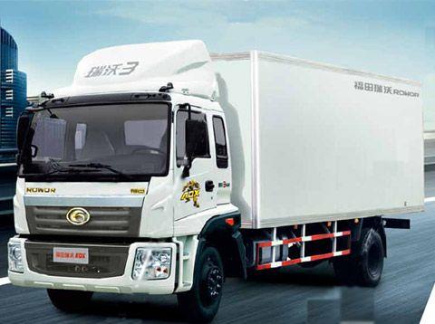 福田瑞沃ADX科技版3系六缸平板载货车高清图片
