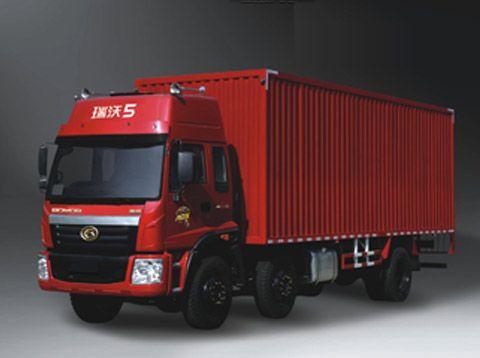 福田瑞沃C1科技版5系6 2平板载货车高清图片
