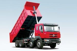 东风柳汽 霸龙重卡 260马力 8×4 自卸车LZ3310REB