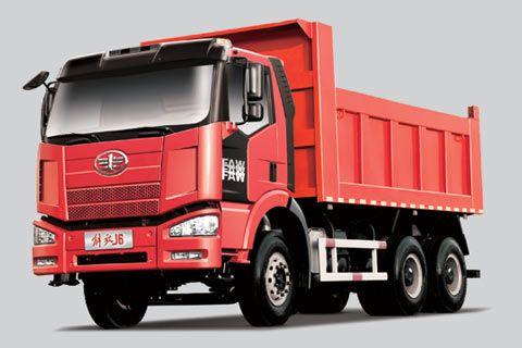 一汽解放 J6p重卡 350马力 6×4 自卸车 CA3250P66K2L0BT1E4