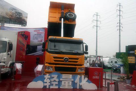 大运 N8重卡 290马力 8X4 自卸车(轻量化)(3313WD3R)