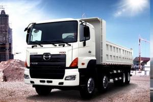广汽日野 700系列 350马力 8×4 自卸车 YC3310FY2PW